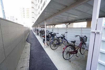 【駐輪場】エスポワール柳川Ⅱ