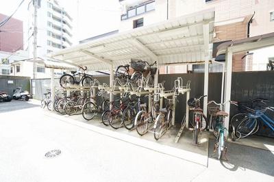 【駐輪場】ダイアパレスセントラルコート薬院