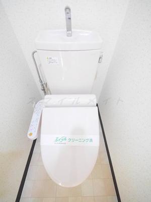 【トイレ】ポーロウニアハイツ