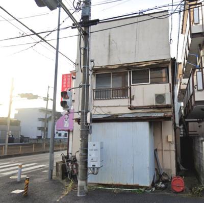 【外観】【売地】川口市西青木◆県道に面す角地です!
