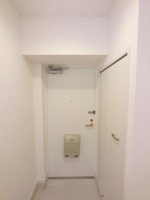 玄関部分です。シューズクローゼット付♪
