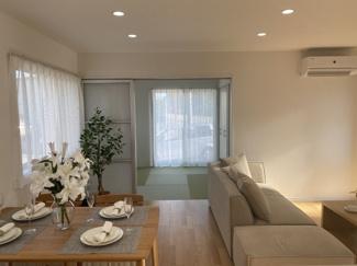 【居間・リビング】大村市武部町 ケンコーホーム施工 新築建売住宅