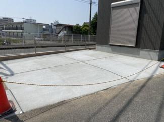 【駐車場】大村市武部町 ケンコーホーム施工 新築建売住宅