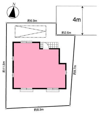 土地面積31坪超。収納たっぷりです。