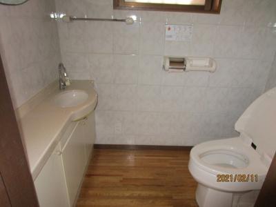 広いトイレ