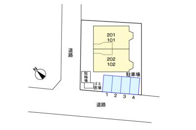 【区画図】ニューハイツ
