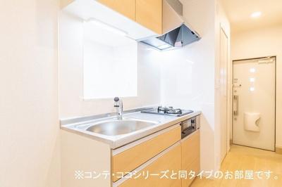 【キッチン】エスポワールユーS