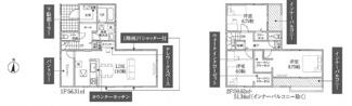 鴻巣市堤町の新築戸建【No.40326】