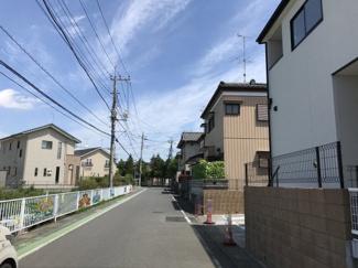 【前面道路含む現地写真】鴻巣市堤町の新築戸建【No.40326】