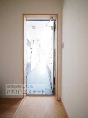 【玄関】ソラーナ金町