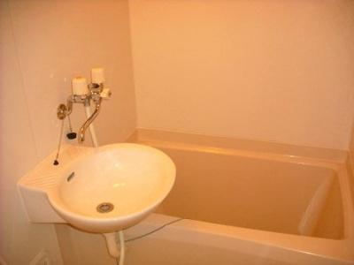 【浴室】レオパレスアクア