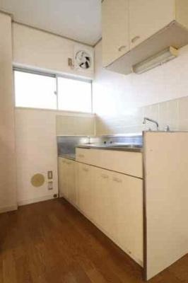 【キッチン】エステートピア足立B棟