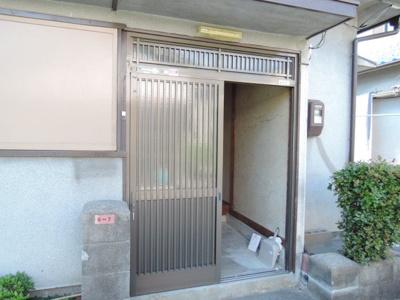 【エントランス】須賀町貸家