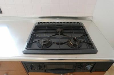 調理器具を選ばないガスコンロです