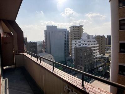 【バルコニー】ライオンズマンション高砂第2