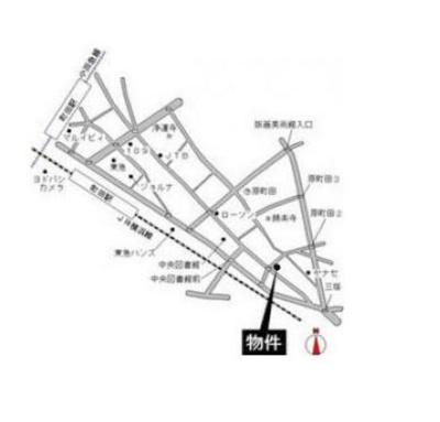 【地図】日野屋第一ビル