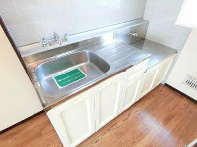ガスコンロ2口設置可能な万能キッチン!