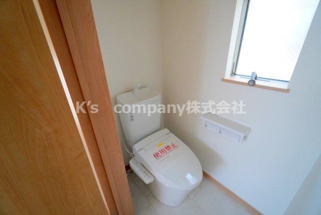 2階トイレです。