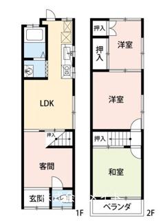 大阪モノレール 南摂津駅※中古住宅※600万円