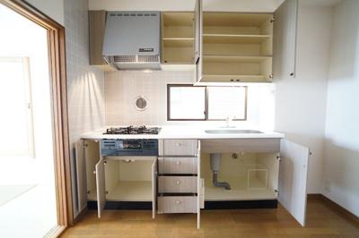 大容量のキッチンセット