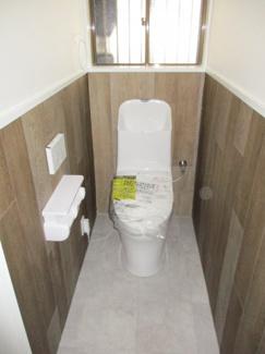 清潔感のある新しいトイレです