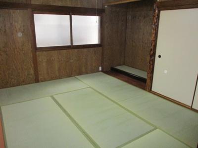 落ち着いた雰囲気のおしゃれな和室付きです