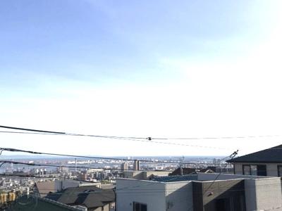 神戸市内の景色が望めます。