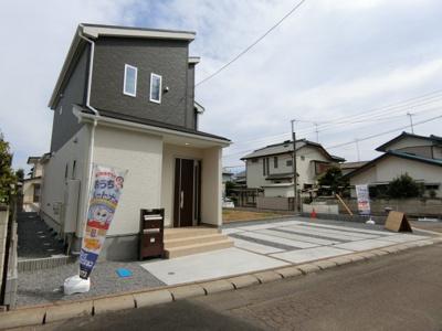 【外観】土浦市天川20-1期 新築戸建
