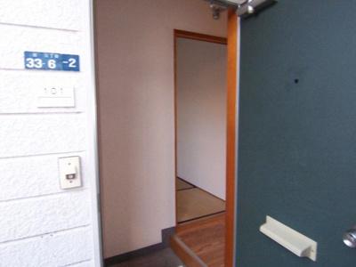 【玄関】サンハイムYOSHI