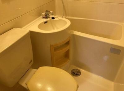 【浴室】コーポ南住吉
