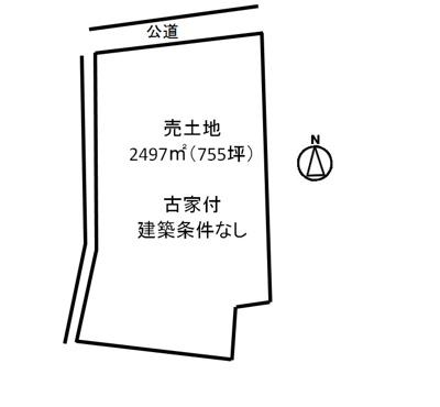 【区画図】福山市新市町大字新市売地