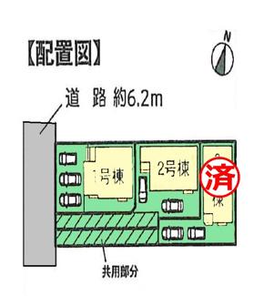【区画図】沼津市蛇松町Ⅰ 新築戸建 全3棟 (1号棟)
