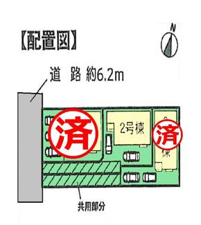 【区画図】沼津市蛇松町Ⅰ 新築戸建 全3棟 (2号棟)