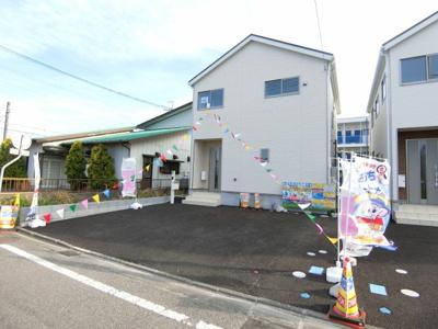 【外観】土浦市真鍋新町第3 新築戸建 5号棟