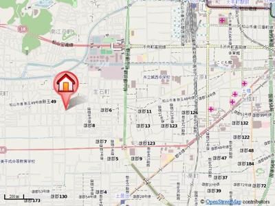 【地図】ルミウス南斎院