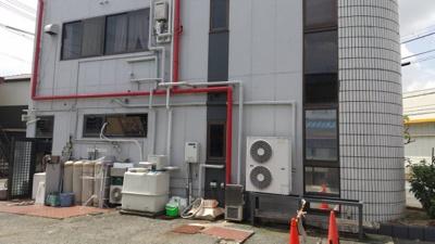 【外観】姫路市辻井3丁目/店舗付住宅