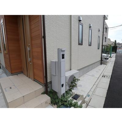 【エントランス】下目黒6丁目貸家2号棟