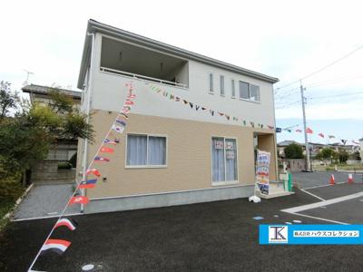 【外観】土浦市中高津第8 新築戸建 1号棟