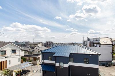 【現地写真】 モデルハウスからの眺めも絶景です♪ 南向き・角地!!