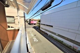 バルコニーからの眺望です♪静かな住宅街です(^^)