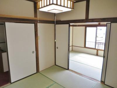 4.5帖の和室の全景です