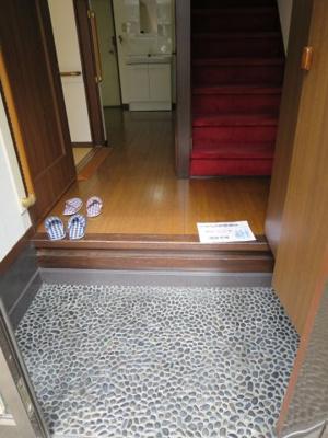 玄関は広々していて使いやすいです☆