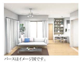 【居間・リビング】新築 茅ヶ崎市矢畑1期 1号棟