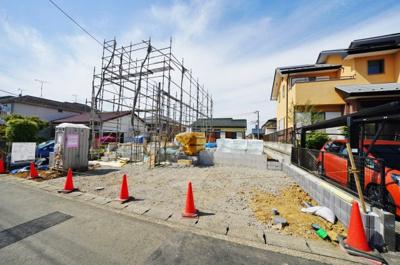 建物の完成は2021年7月予定となっております