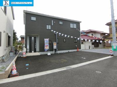 【外観】土浦市中高津第8 新築戸建 2号棟
