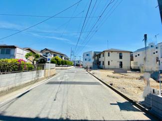 【前面道路含む現地写真】梅田小中に近い十間坂3丁目 No1