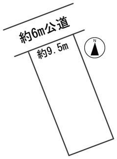【区画図】56674 岐阜市雄総桜町土地