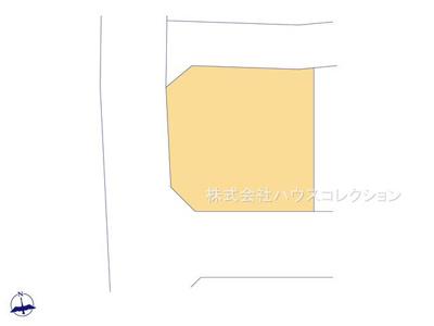 【区画図】土浦市神立町 新築戸建