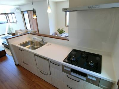 【キッチン】土浦市神立町 新築戸建