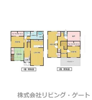 全室6帖以上の4SLDK 143.27平米